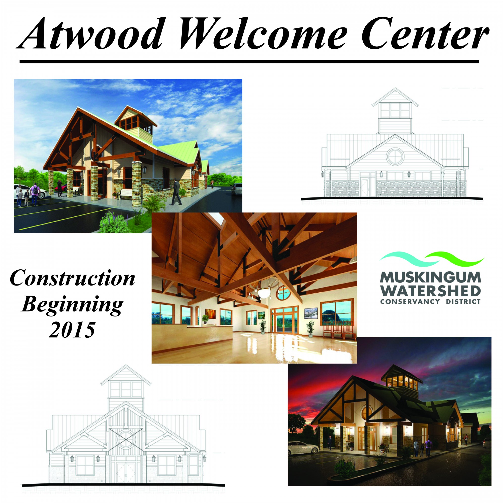 Construction Scheduled for Welcome Center at Atwood Lake Park