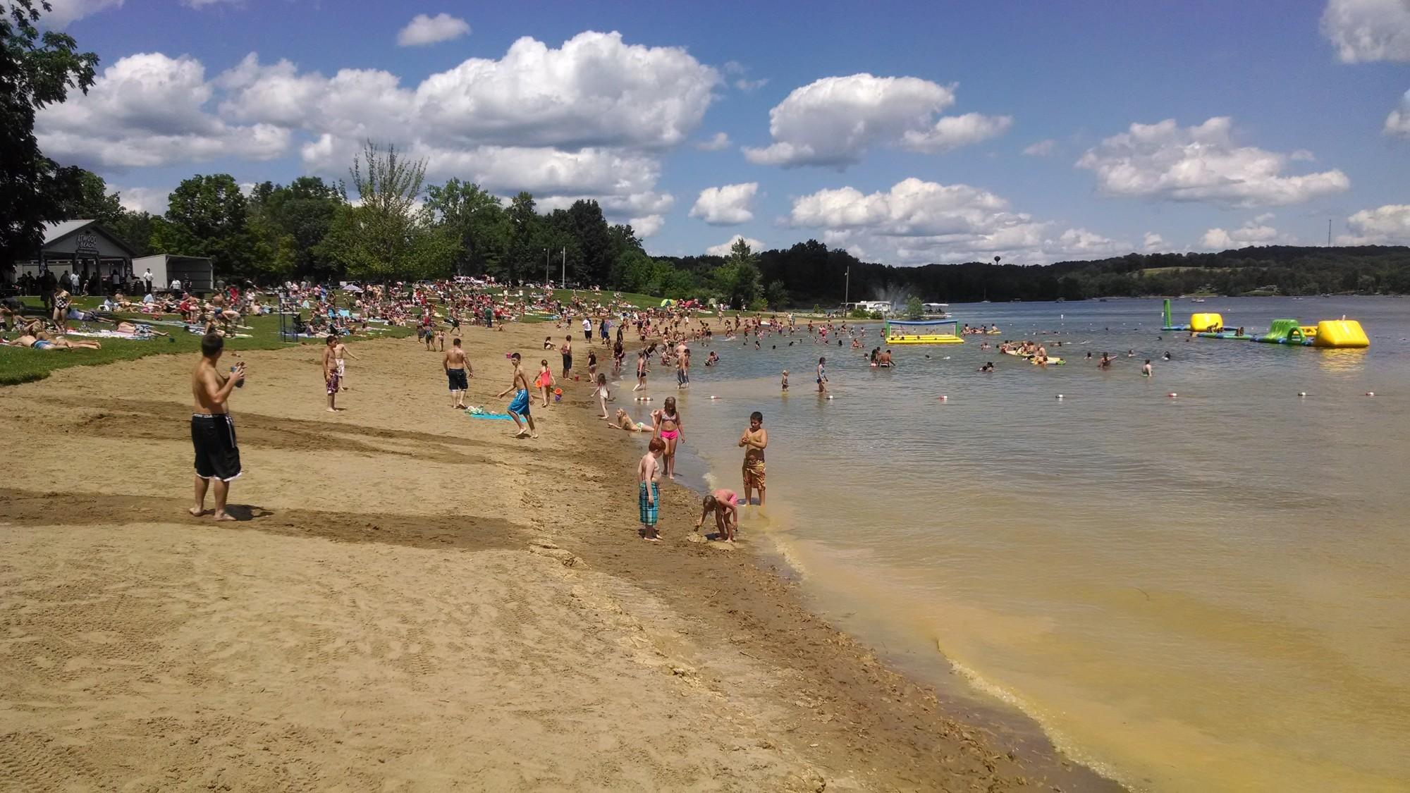 Swimming Beach - Atwood Lake Park, Ohio