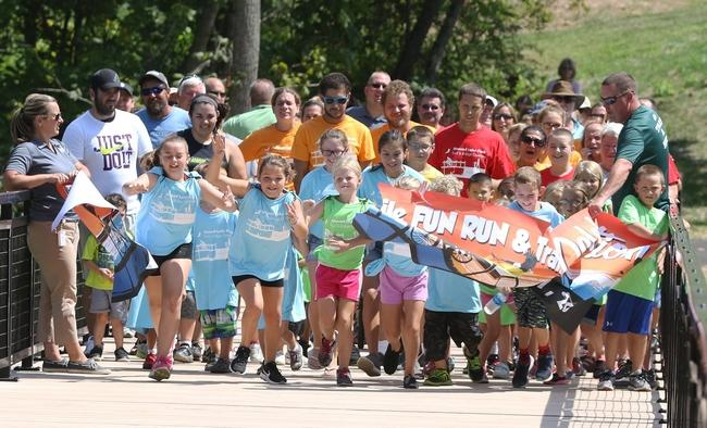Kids 1 Mile Fun Run Commemorates the new Bridge Opening at Atwood!