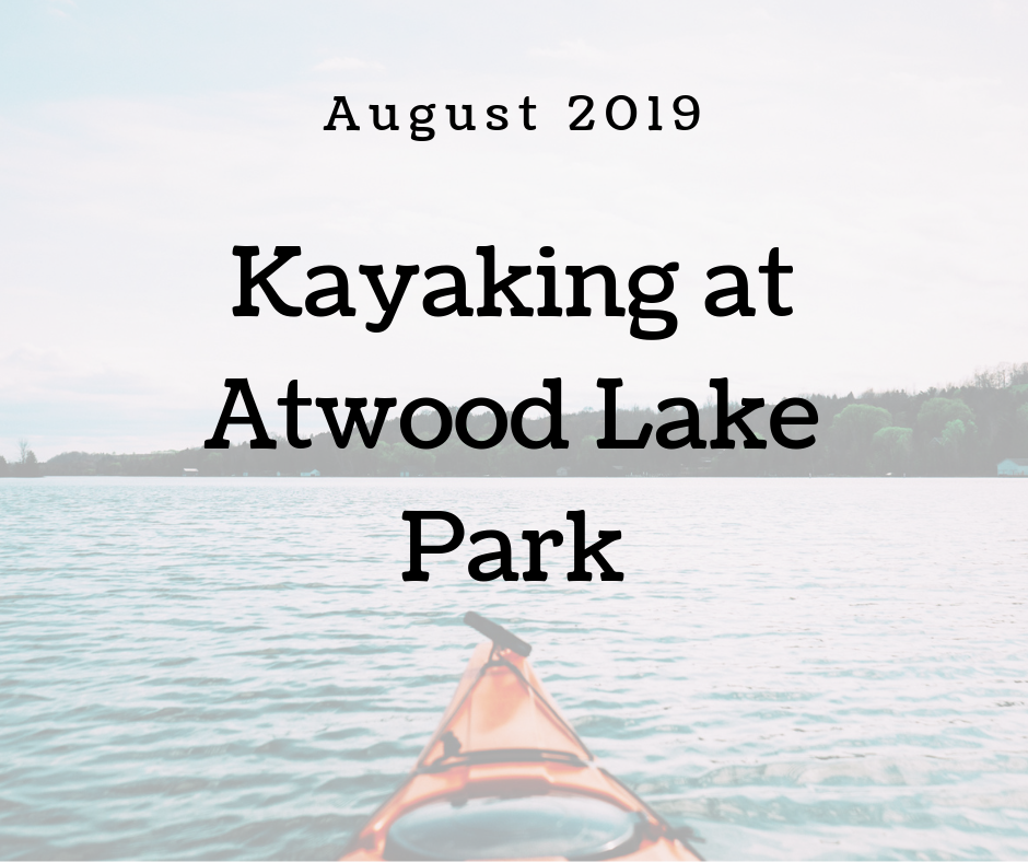 August Kayaking Events at Atwood Lake Park